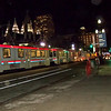 AOA Confluence Event- Utah Transit Trolley in front of Temple Square, Salt Lake City