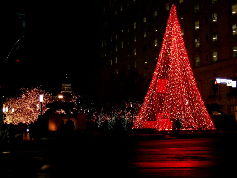 AOA Confluence Event - Christmas Lights at Temple Square, Salt Lake City