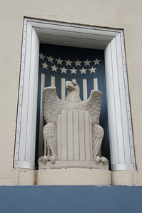 Eagle at SF Post Office