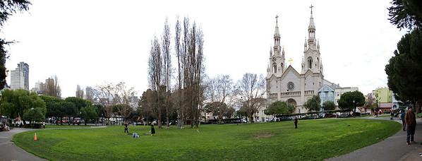 Washington Square Panorama