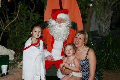 Santa Pool Party