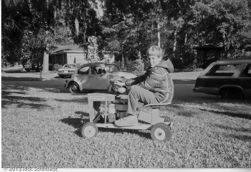 118 Dan on the riding lawn mower011
