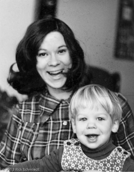 107 Olivia and Dan BW 1975 030