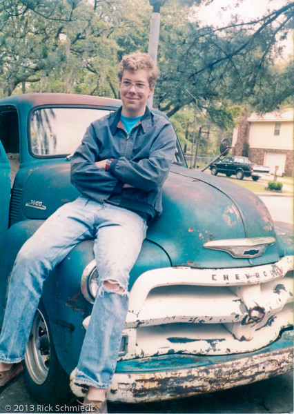 124 Dan on 54 Chevy b4 restoration024