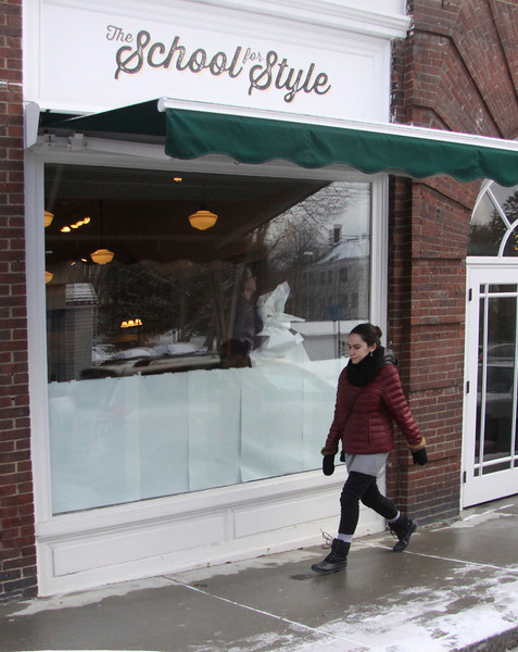 The former School for Style store on Spring St. in Williamstown will be Mad Mac's, an Apple Authorized Sales & Services store of next week. ( January 10th 2014 Holly Pelczynski/Berkshire Eagle Staff)