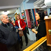 KRISTOPHER RADDER — BRATTLEBORO REFORMER<br /> United States Congressman Peter Welch (D-Vt) visits different area shops as he tries to promote shopping locally on Monday, Nov. 19, 2018.