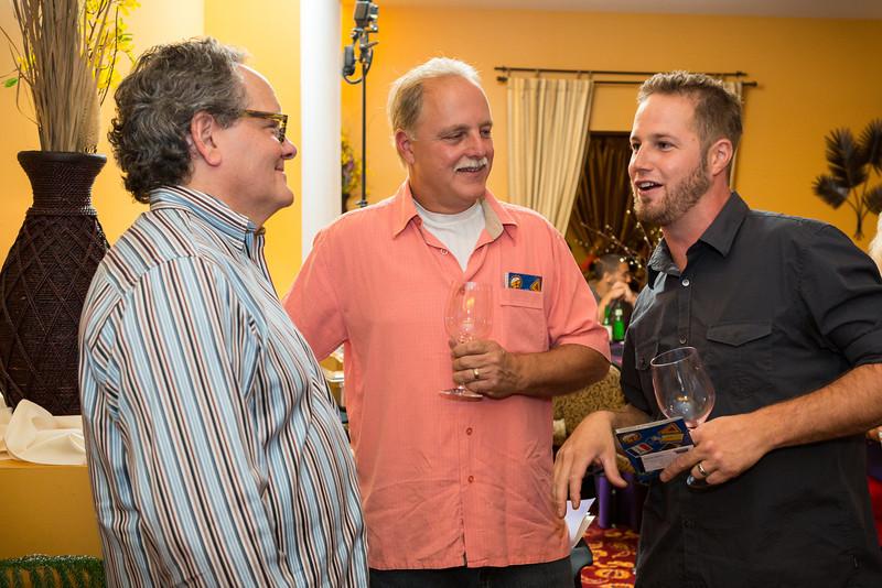 Michael, Greg & Clay in Alpha Room