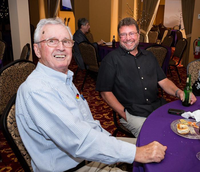 Guests George & Greg in Beta Room
