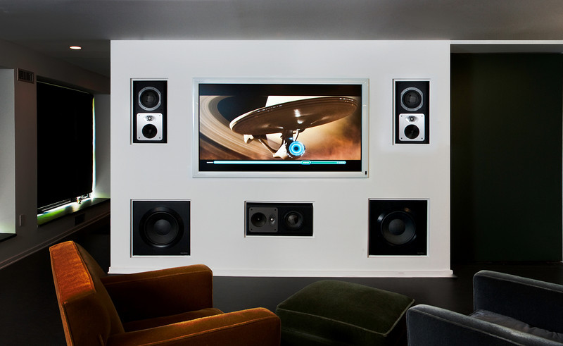 Simple Home Theater installation