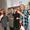 Het eerste glas heffen bij het Smaakpunt in Limbricht