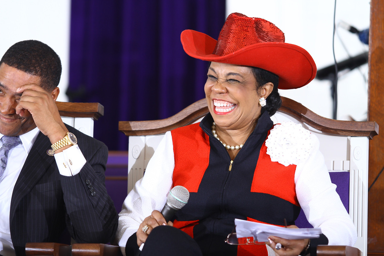 """Congresswoman Frederica Wilson and the 10 members of the Congressional Black Caucus """"How to get America back to work"""".†<a href=""""http://www.thegrio.com/politics/black-caucus-brings-jobs-focus-to-miami.php"""">http://www.thegrio.com/politics/black-caucus-brings-jobs-focus-to-miami.php</a>"""