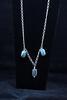"""AA grade Labradorite stones, 17"""" Sterling Silver Chain"""