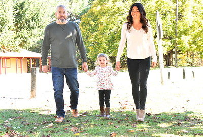 Southington-Cheshire Community YMCAs - Rivers Family Portraits at Camp Sloper - October 17, 2020