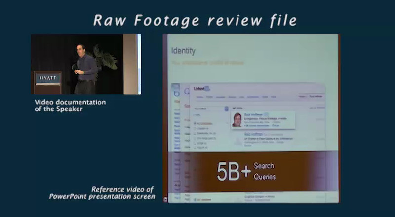 Raw Footage Review Video clip<br /> <br /> Speaker: Mike Derezin, LinkedIn<br /> Event: AA-ISP Inside Sales 2012<br /> Topic: The Changing Trends in Sales<br /> part 2 of 2