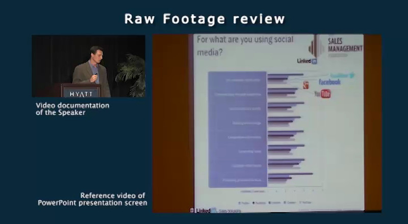 Raw Footage Review Video clip<br /> <br /> Speaker: Ralf VonSosen, LinkedIn<br /> Event: AA-ISP Inside Sales 2012<br /> part 2 of 4
