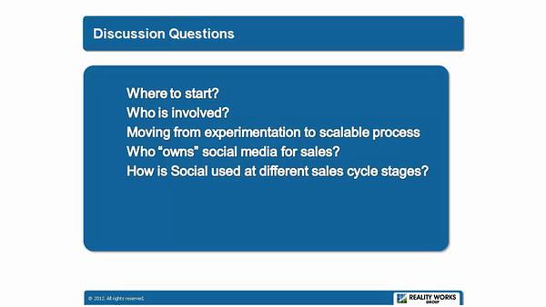 Speaker Presentation Documentation.<br /> Voice over Power Point slides.<br /> <br /> Speakers: <br /> Ralf VanSosen & Anneke Seley<br /> Event: AA-ISP Inside Sales 2012<br /> Part 3of3