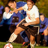 Action from a Women's College Soccer Match.<br /> (c) Tom Croke/Visual Image, Inc.