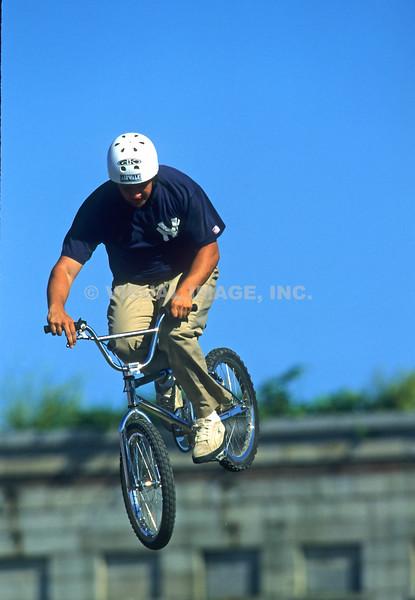 BMX Biker - Stock