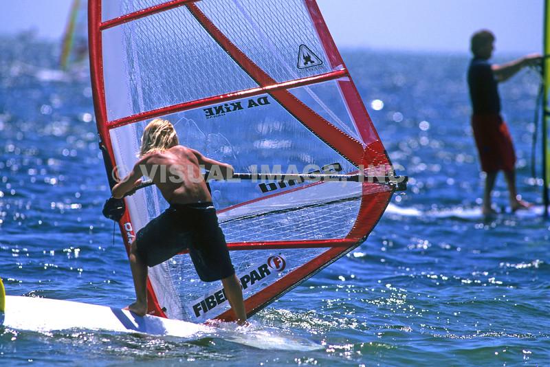 Wind Surfing - Stock