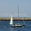 Boating on the Cape Cod Canal, Sandwich, MA.