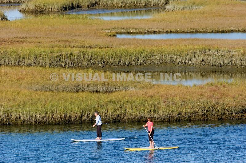 Paddleboating - Stock