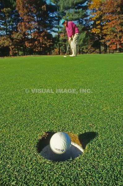 Golfing - Stock