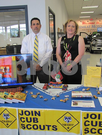 Jason Ballew and Linda Ayers shared information about opportunities to help with Cub Scouts and Boy Scouts.