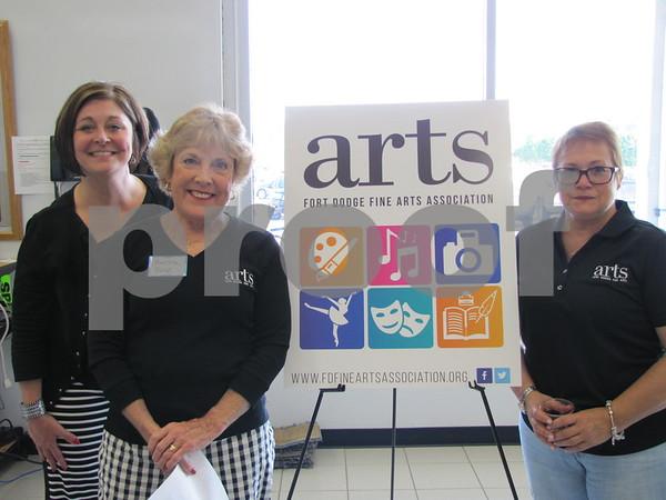 Susan Ahlers Leman, Martha Bice, and Chris Dayton
