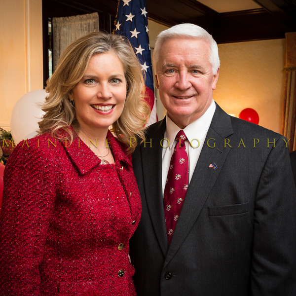 Robin Taylor and Governor Corbett