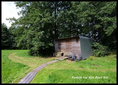 Stoere hut als AirBnB
