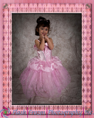 Tan  Canvas Princess Frame on Canvas is an after effect applied to canvas gallery wraps.  Background is good for portraits, executive headhots and family  Children'sPhotography by Kathy Rappaport