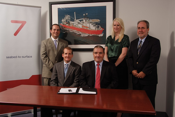 Subsea 7 Lease Signing 2012