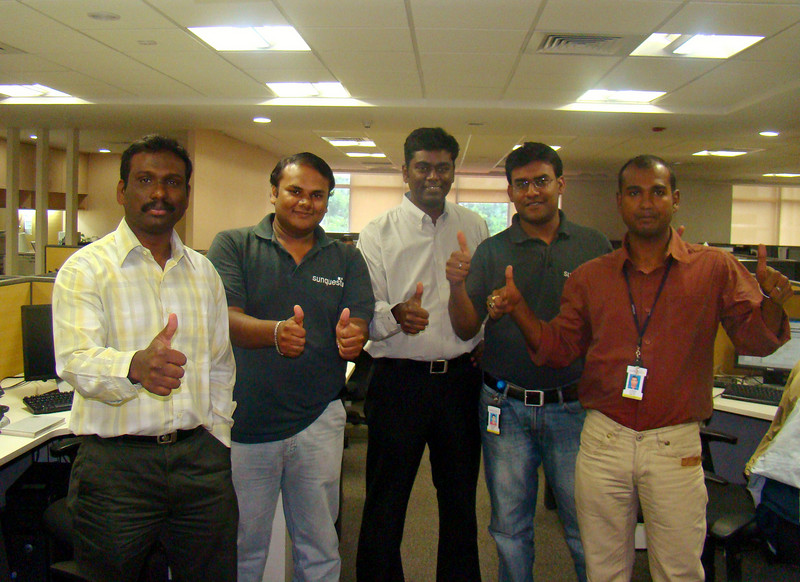 Sunquest India: The Transfusion Manager and Collection Manager Quality Control Team