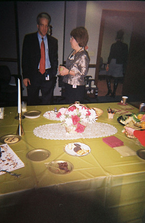 Susan's Farewell Party from GAO, December 2003