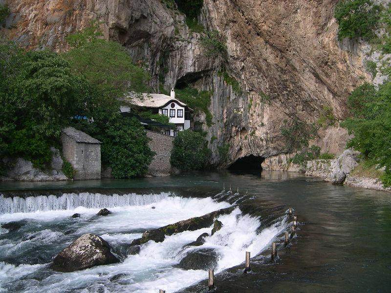 River in Mostar