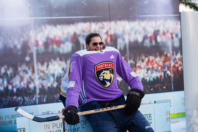 Sylvester Hockey Fights Cancer -110