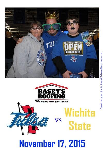 TU vs. Wichita State - November 17, 2015