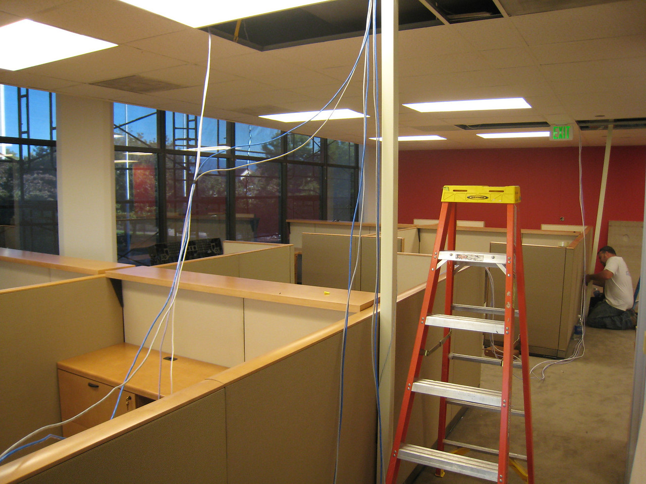 "Did I just hear someone mutter ""cubicle hell""?"