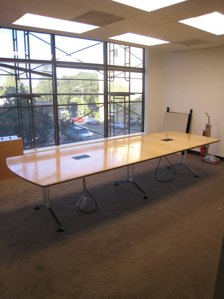 It is significantly bigger than our old conference room