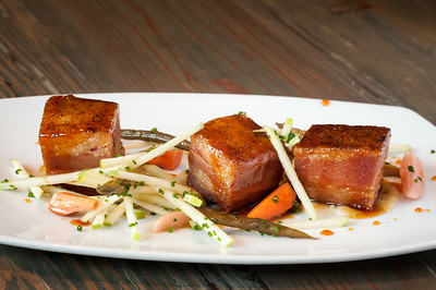 Julian Cider Glazed Crispy Pork Belly