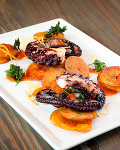 Local Charred Octopus