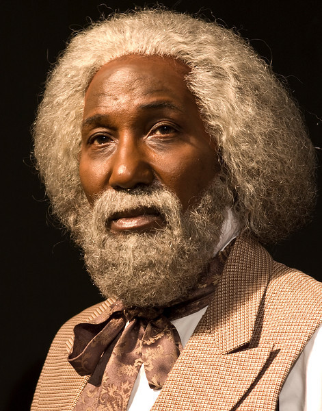 Tom Dugan Plays - Mel Johnson Jr. as Frederick Douglass in Frederick Douglass - In the Shadow of Slavery (high res)