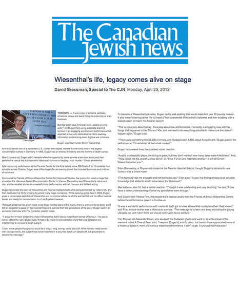 td CanadianJewishNews April2012