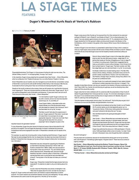 td LAStageTimes Feb2012 clipping