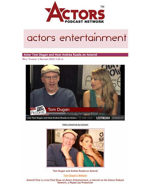 td ActorsE Oct2012