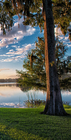 """Sunrise on Lake Virginia"""