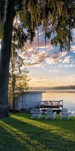 """""""Sunrise on Lake Virginia"""""""
