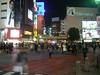 Shibuya at night.