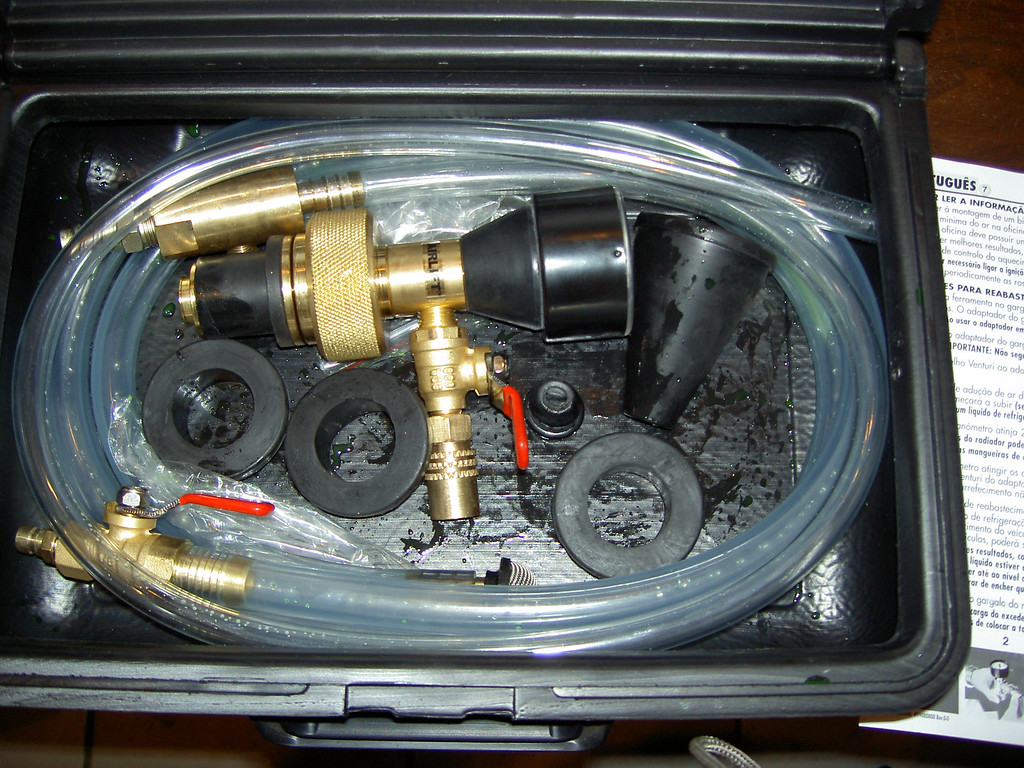 Air Lift- Two hoses with attached ends and other 6 pieces