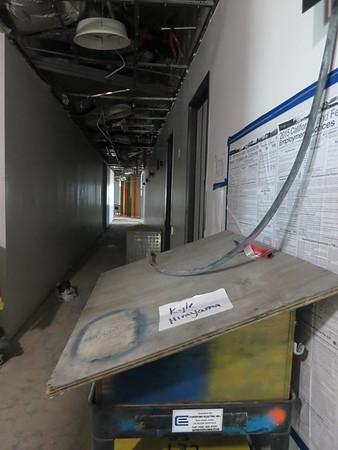 Touring 14th Floor Demolition